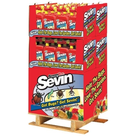 SEVIN INSECT KILLER READY TO SPRAY QUARTER PALLET