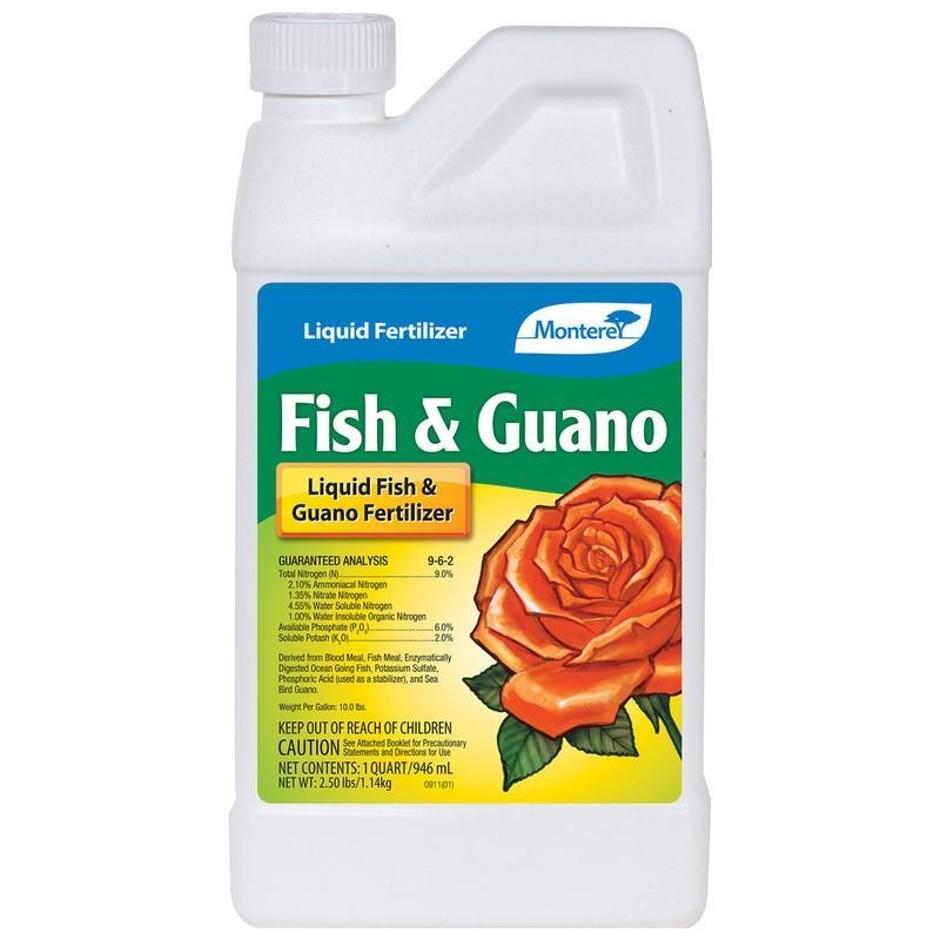 FISH AND GUANO PLANT FERTILIZER